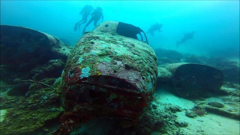 Tambuli Aeroplane Wreck in Mactan Cebu